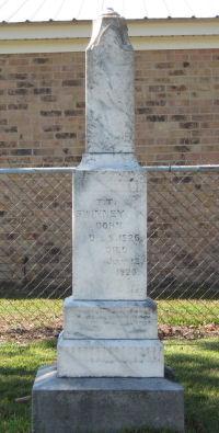 Thomas Troup Swinney Headstone